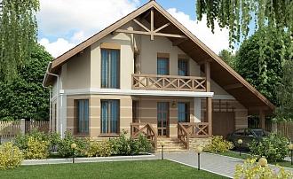Проекты домов с мансардой в Липецке Липецкое